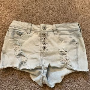 Guess Jeans Shorts - High Waisted - 26
